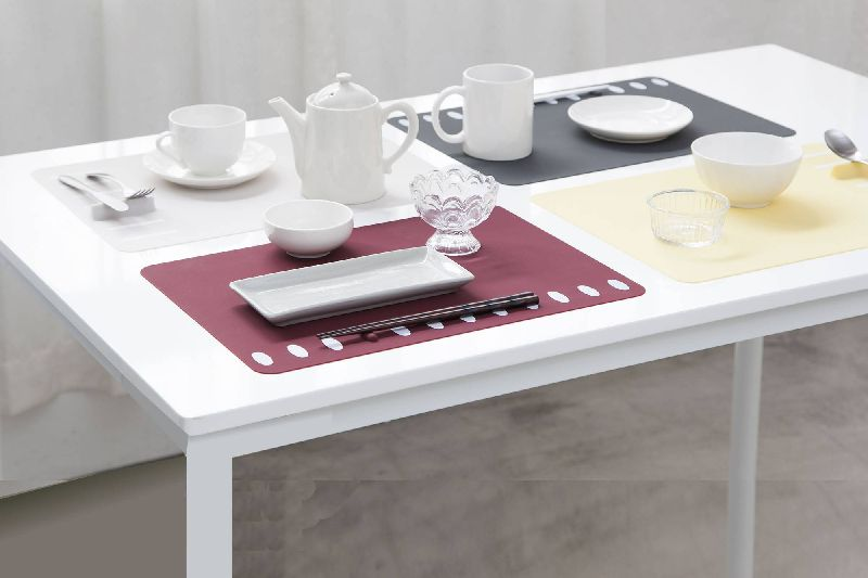 Chopstick rest placement luncheon mat